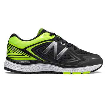 New Balance 860v8, Black with Hi-Lite