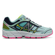 NB New Balance 860v5, Reef with Hi-Lite & Pink Glo