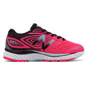 NB New Balance 880v7, Hot Pink with Black & Light Blue