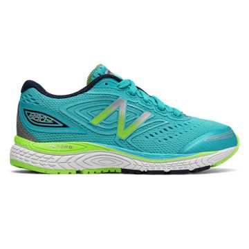 New Balance 880v7, Blue Atoll with Energy Lime