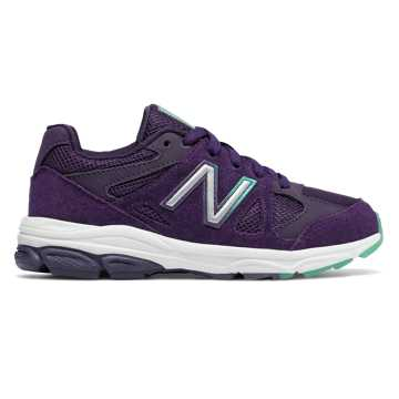 New Balance 888, Blue with Rainbow