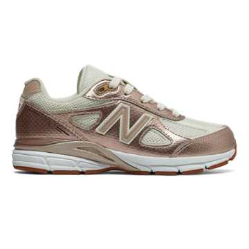 New Balance 990v4, Gold with Off White