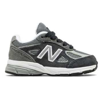 New Balance 990v4, Grey with Black