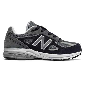 New Balance 990v4, Grey with Black