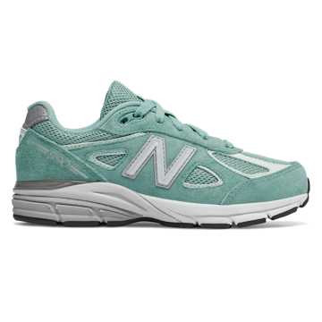 New Balance 990v4, Mineral Sage with Seafoam