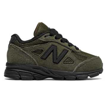 New Balance 990v4, Olive with Black