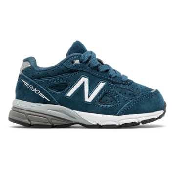 New Balance 990v4, North Sea with Silver