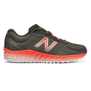 New Balance Fresh Foam Arishi, Olive with Dynamite