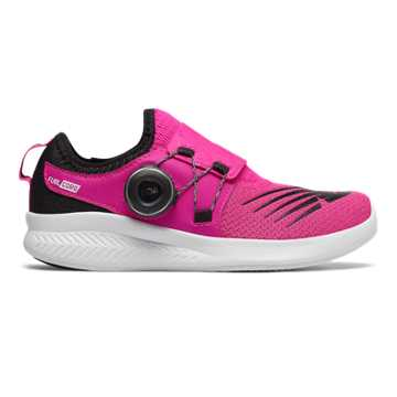 New Balance FuelCore Reveal Boa, Pink Glo with Black