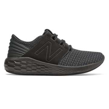 New Balance Fresh Foam Cruz Nubuck, Black with Magnet