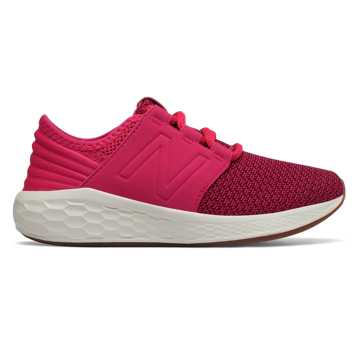 New Balance Fresh Foam Cruz Nubuck, Pomegranate with Vortex