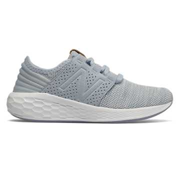 New Balance Fresh Foam Cruz Knit, Ice Blue with White