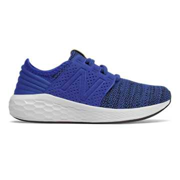 New Balance Fresh Foam Cruz Knit, Team Royal with Black