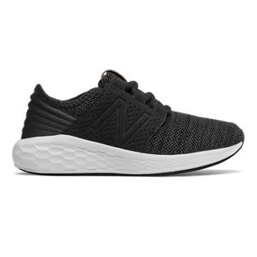 New Balance Fresh Foam Cruz Knit, Black with Magnet