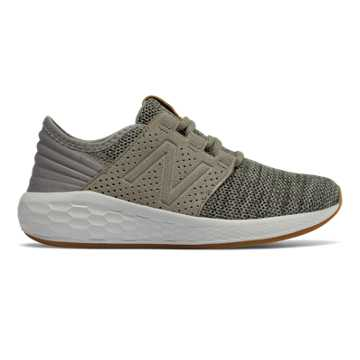 New Balance Fresh Foam Cruz Knit, Military Foliage Green with Rosin