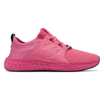 New Balance Cruz Sport Disney, Pink with Black