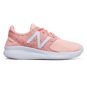 New Balance FuelCore Coast v3 Confetti, Himalayan Pink with White