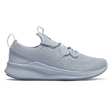 New Balance Fresh Foam Lazr Heathered, Ice Blue with White