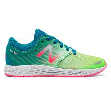 New Balance Fresh Foam Zante v3, Hot Pink with Typhoon & Lime Glo