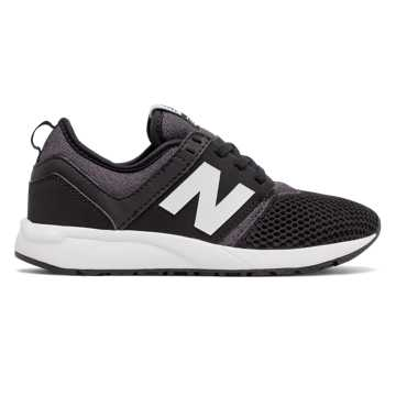 New Balance 247 Classic, Black with White
