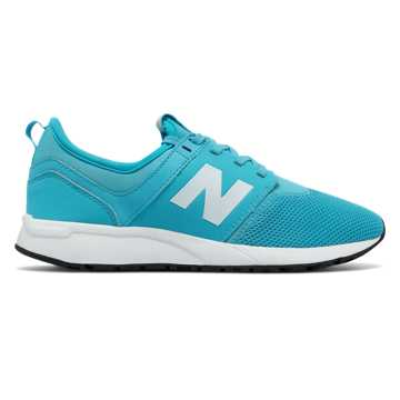 New Balance 247 Classic, Teal with White