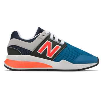 New Balance 247, Light Blue with Flame