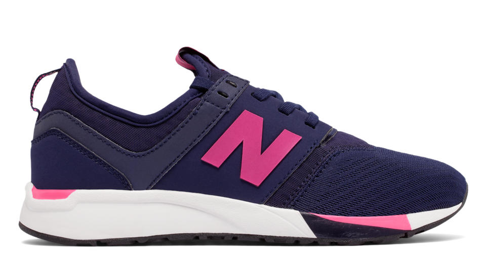 new balance 247 trainers pink