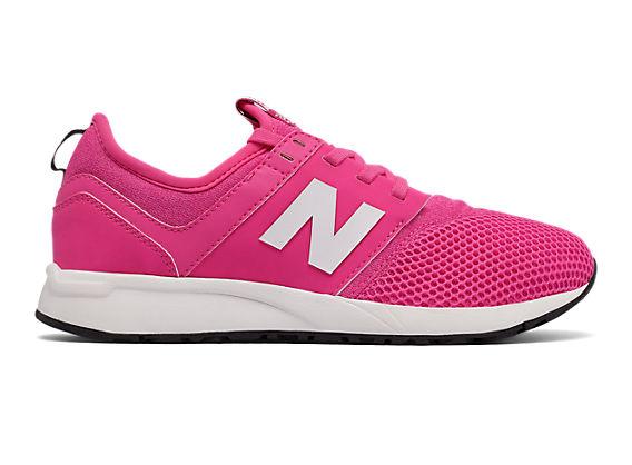 New Balance-KA 247, Pink Flamingo/White, 27.5 EU