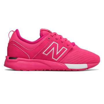 New Balance 247 Classic, Pink with White