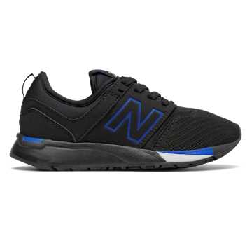 New Balance 247 Sport, Black with Blue