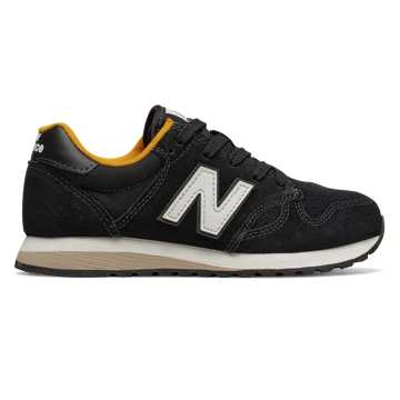 New Balance 520 New Balance, Black with Yellow