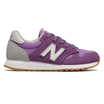 New Balance 520 New Balance, Purple with White