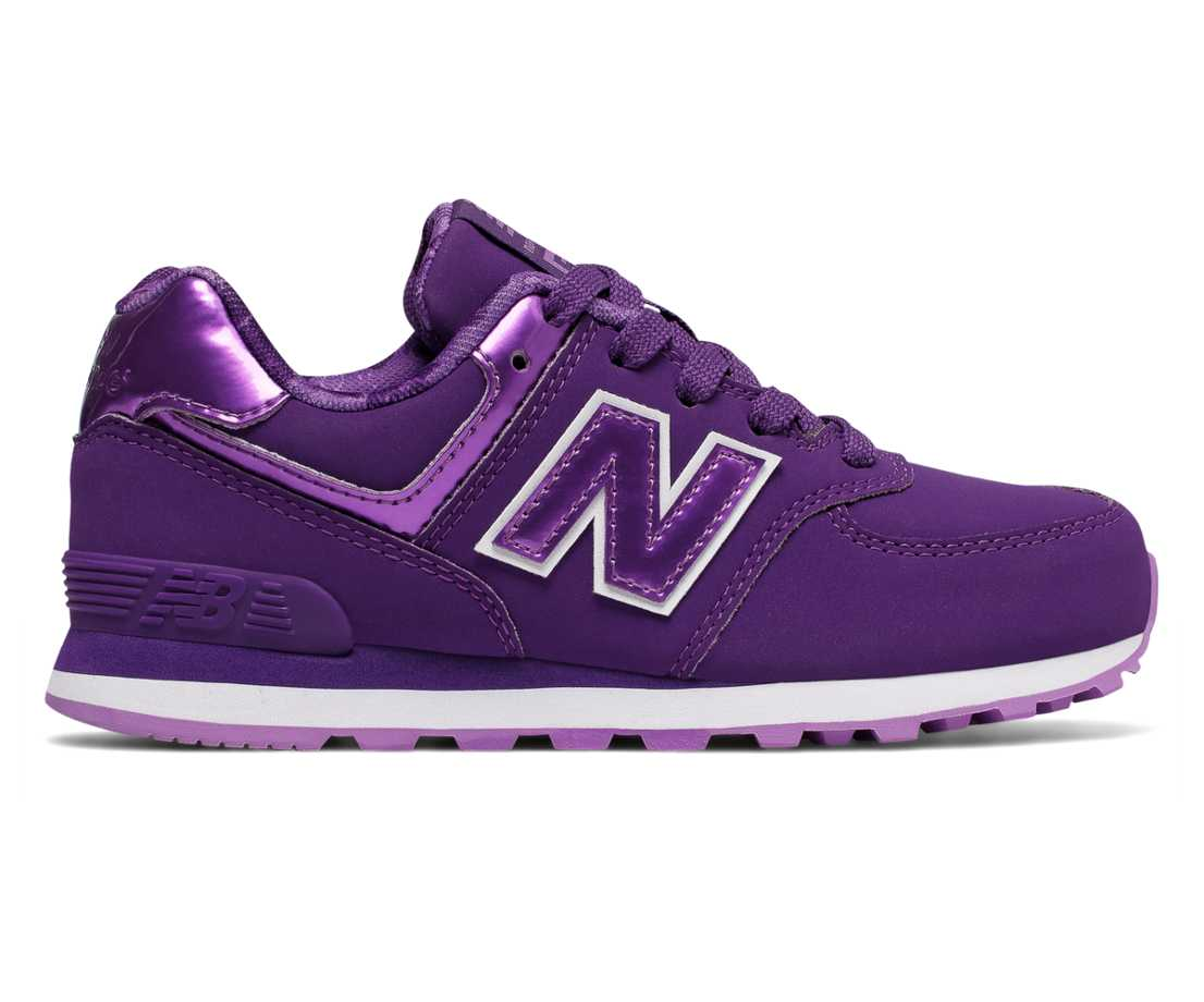 NB 574 New Balance, Purple with Lilac