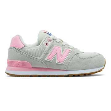 New Balance 574 Resort Sporty, Pink with Light Grey