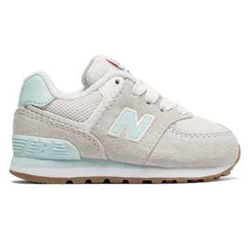 New Balance 574 Resort Sporty, Blue Light with Light Grey