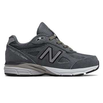 New Balance Reflective 990v4, Grey with Silver