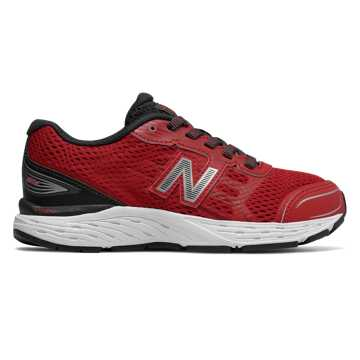 New Balance 680v5, Team Red with Phantom