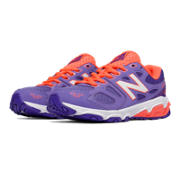NB New Balance 680v3, Purple with Coral