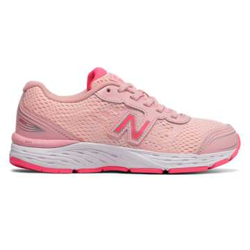 New Balance 680v5, Himalayan Pink with Pink Zing