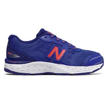 New Balance 680v5, Pacific with Dynamite