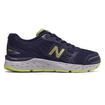 New Balance 680v5, Pigment with Limeade