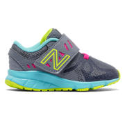 New Balance Hook and Loop 200, Grey with Aquarius