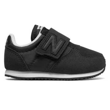 New Balance 220 Hook and Loop, Black