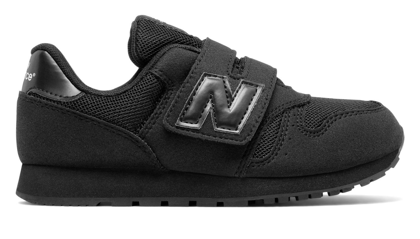 all black new balance 373