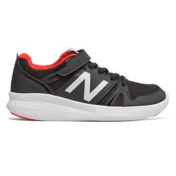 New Balance 570系列儿童跑步运动鞋, 黑色