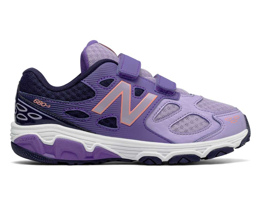 New Balance New Balance 680v3, Purple with Navy