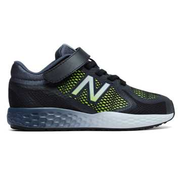 New Balance Hook and Loop 720v4, Black with Lime