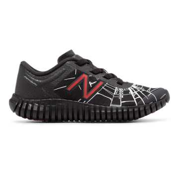 New Balance 99 Marvel Slip-On, Black with Red