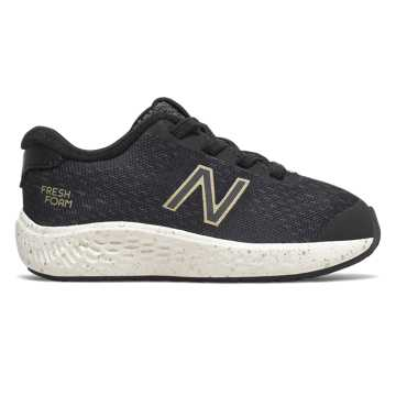 New Balance Bungee Lace Fresh Foam Arishi NXT, Black with Gold