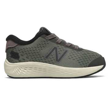 New Balance Bungee Lace Fresh Foam Arishi NXT, Dark Gull Grey with Black